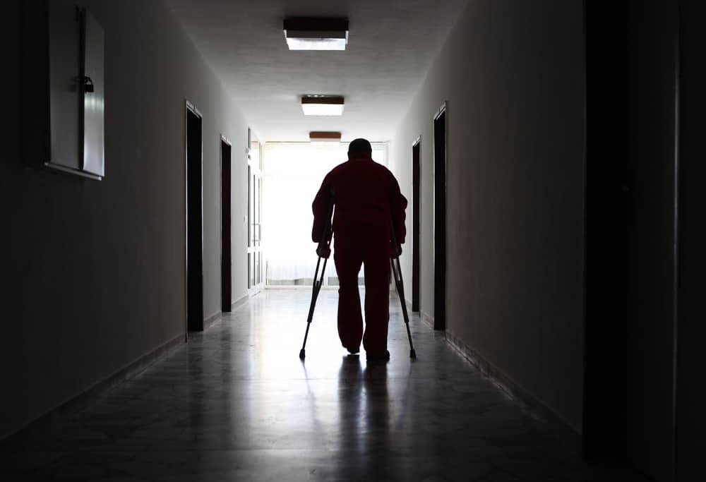 Man Crutches